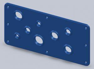 Gland Plate Gasket, molded