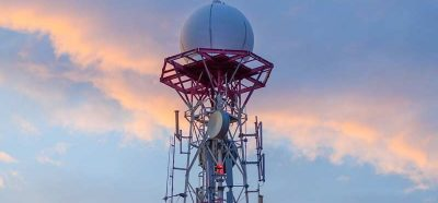 Radome Against Sky