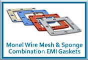 Monel Wire Mesh and Sponge Combination EMI Gasket Materials button