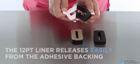 Foam gasket release liner