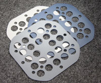 LED bezel gaskets
