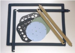 LED gaskets and pads