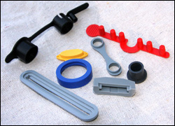 Liquid Silicone Rubber molded parts