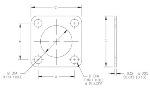 MIL-DTL-83528/4 EMI Flange Gaskets drawing