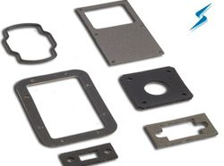 6 nickel-graphite EMI gaskets