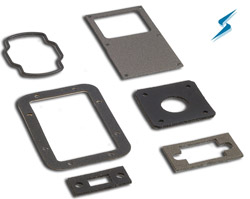 Nickel-Graphite Filled Silicone EMI Shielding Gaskets