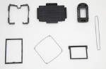 Gaskets for ruggedized portable devices