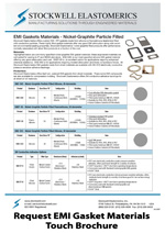 SE206T EMI Gasket Materials Touch Brochure