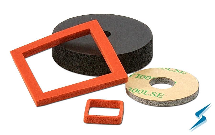 Silicone Foam Gasket Material, Silicone Foam Tape, BISCO Silicones