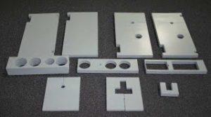 Silicone foam parts