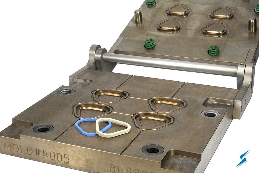 Rubber Compression Molding, Silicone Rubber Compression