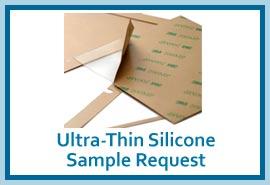 Ultra thin silicone sample request button