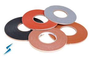 Gasket tape, 5 rolls, different colors