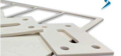 Molded LSR Waterjet Cut Parts
