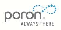Poron logo - Rogers Corp