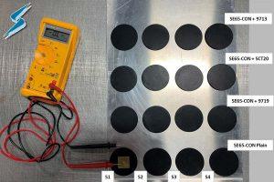 SE65-CON Conductive Adhesive Testing Photo