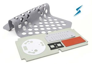 Silicone foam, sponge and solids for sealing and thermally conductive solutions