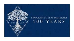 Stockwell Elastomerics 100 years logo